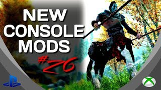 Skyrim Special Edition: ►5 BRAND NEW CONSOLE MODS◀ #26 (PS4/XB1/PC)
