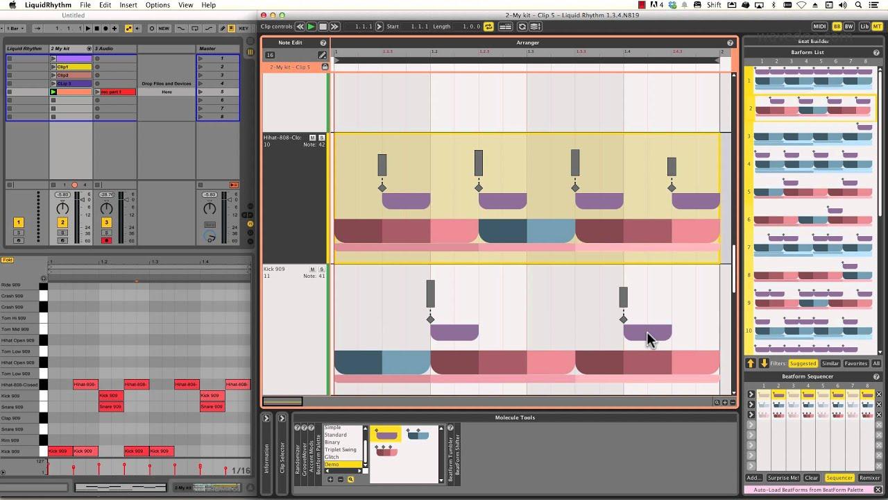 WaveDNA com DAW Integration - Ableton Live 9 & Liquid Rhythm