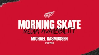 Michael Rasmussen | Morning Skate | 1/19 CBJ