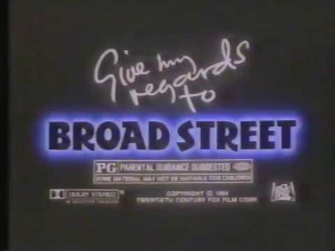 Give My Regards To Broad Street 1984 TV Spot