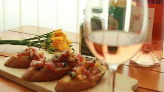 이탈리안요리 - 브루스케타 만들기, 간단한 바게트 요리…