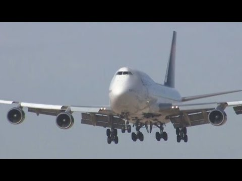 VIDEO: Final flight for the 747; plane landed in Marana, AZ