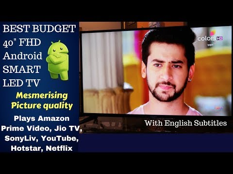 BEST BUDGET 40 INCH FHD ANDROID SMART TV | REVIEW
