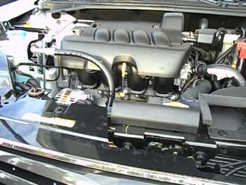 2012 Nissan Sentra Engine View