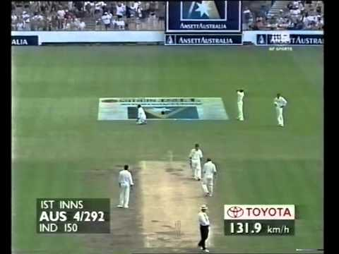 Justin Langer 223 vs India 3rd test 1999/00