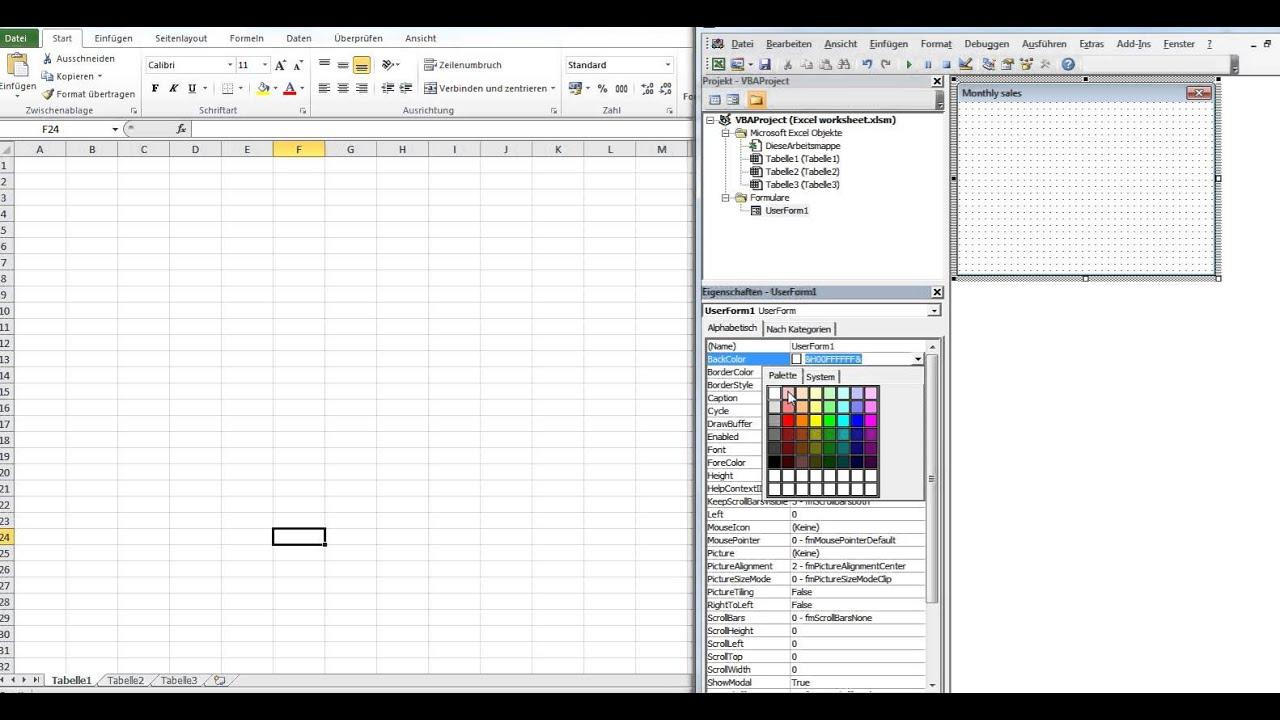 Drawing Lines In Userform : Display table in userform excel vba