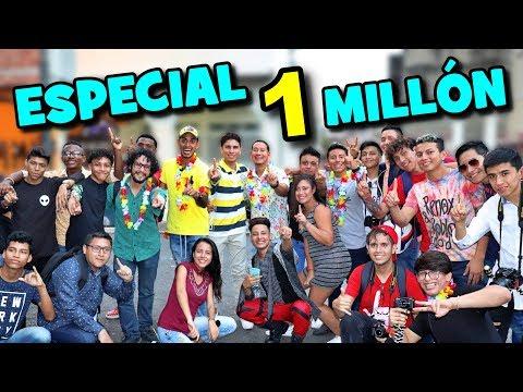 ESPECIAL 1 MILLÓN DE SUSCRIPTORES