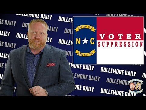 Racist NC Republican #VoterSuppression Law Struck Down - #DollemoreDaily
