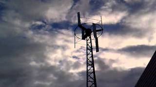 """Vertikale Kleinwindkraftanlagen (VAWT) - """"STRIBOG"""" 3,0(6)"""