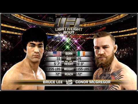 Thumbnail: Bruce Lee vs Conor McGregor - Full Fight - EA Sports UFC
