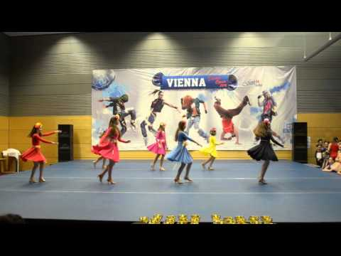 VOJVODINA DENS LATIN SHOW GROUP VIENNA OPEN 2016