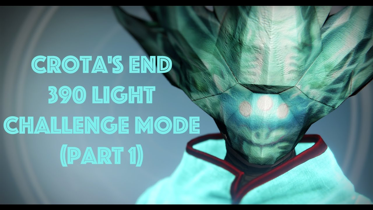 Destiny how many lamps are in crotas end - Destiny Raids Ep 2 Crota S End 390 Light Challenge Mode Part 1