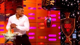 Anthony Joshua DESTROYS Punching Bag Record! | The Graham Norton Show thumbnail