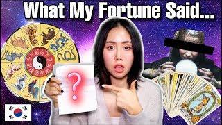 Baixar I Got a Zodiac Fortune Reading in Korea! The Results…