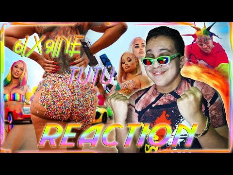 6IX9INE- TUTU (Official Music Video) (Reaction)