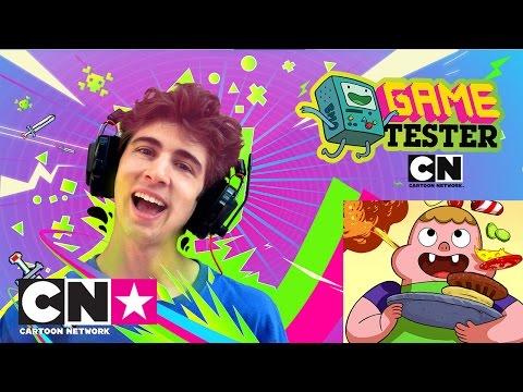 Clarence vs Favij   Game Tester   Cartoon Network