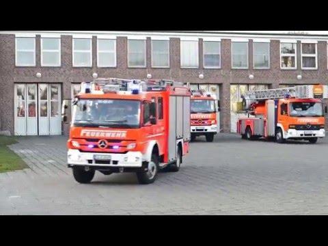 Einsatz Blaulicht - Notruf für die Berufsfeuerwehr Kiel