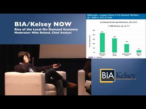 Mike Boland: On-Demand Economy Panel (SF '15)