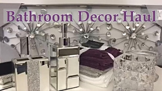 Mini Bathroom Decor Haul plus Shop With Me - Marshalls & Home Goods