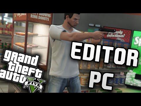 TUTORIAL BÁSICO | GTA V - Como USAR el EDITOR DE ROCKSTAR en PC.