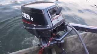 Yamaha 6 Hp On 1436 Aluminum Jon Boat