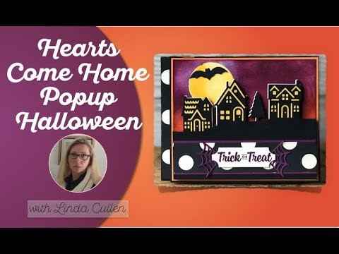 How to make a Halloween Pop-up Card - Stamp It Group Halloween Blog Hop