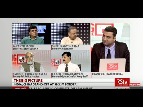 The Big Picture - India-China Stand-off at Sikkim Border