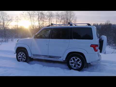УАЗ Патриот 2019 г. Оснащение/обзор максимальной комплектации автомобиля.