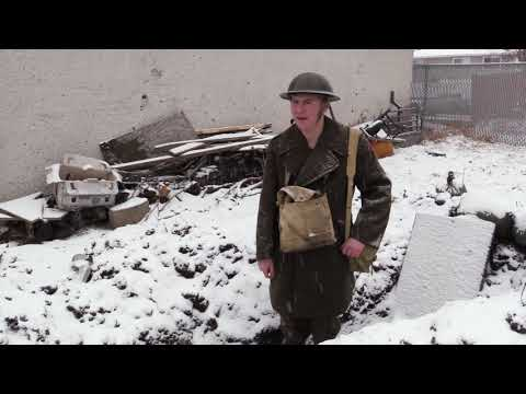Edmonton student builds replica WWI trench in backyard