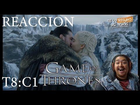 Vídeo Reacción A: Game Of Thrones | Temporada 8 Capítulo 1 | #TeLoResumoAsíNomás