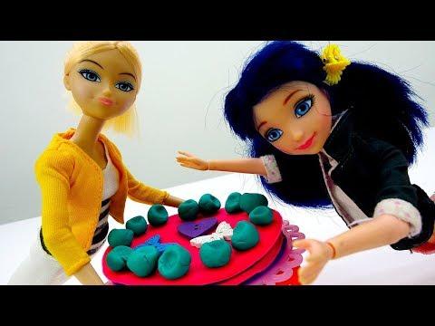 Хлоя и Маринетт – Чей десерт лучше? - Игры в куклы Леди Баг.