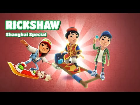 Subway Surfers Full Gameplay World Tour 2017 Shanghai Special MYSTERY BOXES OPENING