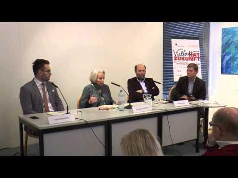 Europäische Ausblicke mit Anneliese Rohrer, Michael Kuhn ud Filip Radunovic (21.11.2015, OMZ Wien)