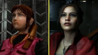 Resident Evil 2 Remake vs Original Early Graphics Comparison