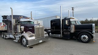 April 1, 2021 Kenworth W9 Peterbilt 379