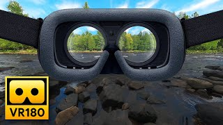 Relax in 5 Minutes with Nature Sounds in VR180 - 3D Virtual Reality Experience with Ambisonics Audio