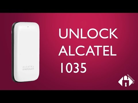 How To Unlock Alcatel OneTouch 1035 1035X, 1035A And 1035D By Unlock Code