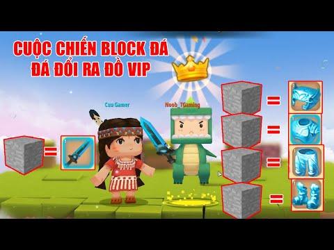 MINI GAME : CUỘC CHIẾN BLOCK ĐÁ ** ĐÁ ĐỔI RA ĐỒ VIP ? THỬ THÁCH CHIẾN THẮNG CỪU TRONG MINI WORLD