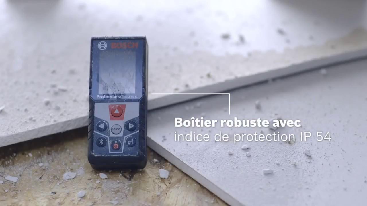 Télémètre laser glm c professional bosch youtube