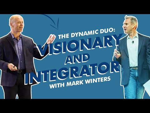 Mark Winters: Rocket Fuel, Visionary & Integrator Leadership with Dan Kuschell