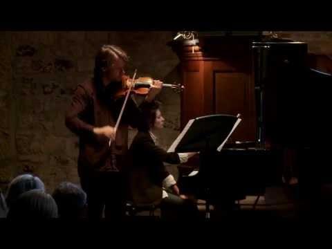 Arvo Pärt's Fratres by Daniel Rowland & Natacha Kudritskaya - live @ Stiftfestival '12