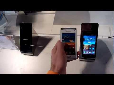 Samsung Wave 3 White Hands On