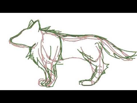 狼のかきかた Youtube