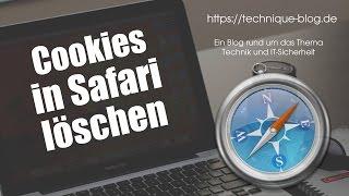 Cookies löschen im Safari Browser