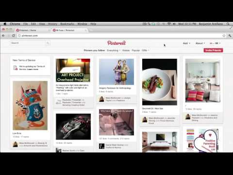 A Beginners Guide To Using Pinterest Tutorial Part 1
