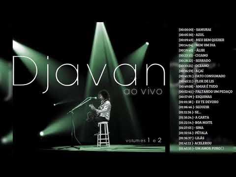 Djavan Ao Vivo Volume 1 e 2 - CD Completo HD