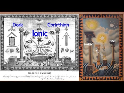 Doric, Ionic & Corinthian columns of Freemasonry via the RPA Sydney