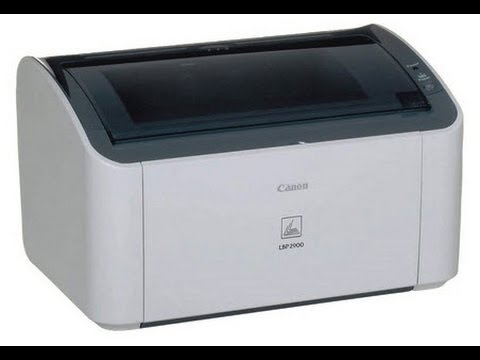 How to install Canon 2900 Printer for Win 7 - 64 bit