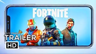 FORTNITE BATTLE ROYALE Mobile Game Trailer (2018) IPhone X Gameplay HD