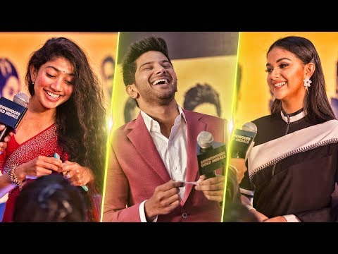 The Red Carpet's Biggest Trends: Sai Pallavi, Keerthy Suresh, Dulquer Salmaan | BGM 2017